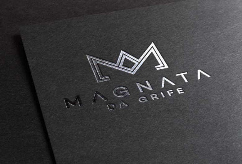 5f752d1a9 Criação de Logotipo, e Cartão de Visitas para Magnata da Grife. Empresa de  roupas e moda masculina localizada em Araruama, RJ. A requisição do cliente  era ...